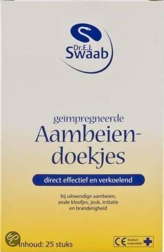 Dr. E.J. Swaab - 25 st - Aambeiendoekjes