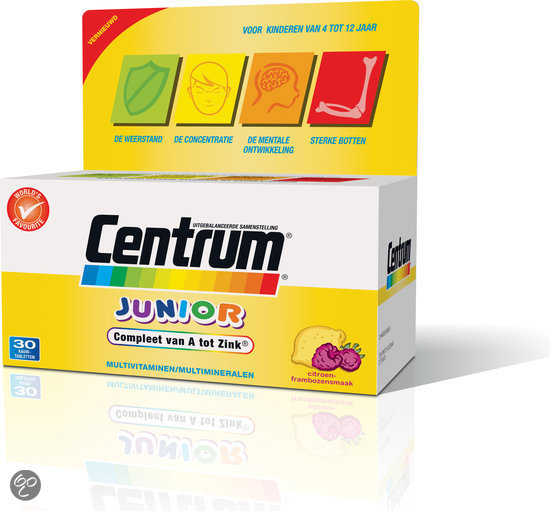 Centrum Junior Advanced - 30 tabletten - Multivitaminen