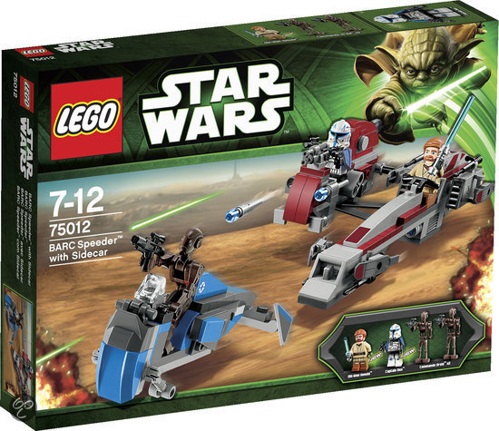 LEGO Star Wars BARC Speeder with Sidecar - 75012
