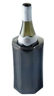 VacuVin Rapid Ice Wijnkoeler - Zwart