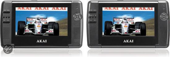 Akai ACVDS735T - Portable Dvd-speler - 2 schermen - 7 inch