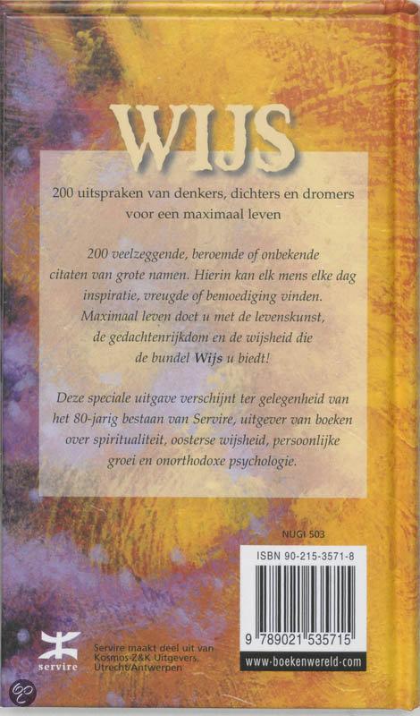 Beroemde Citaten Boeken : Bol wijs  boeken