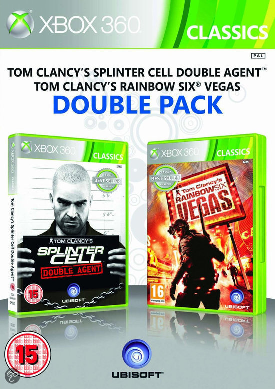Splinter Cell: Double Agent + Rainbow Six: Vegas (Double Pack)
