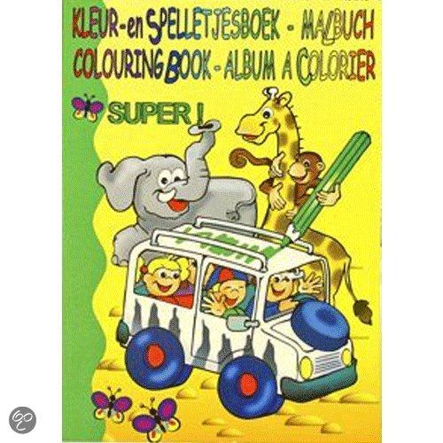Kleurboek superdik met 112 blz in Renlies