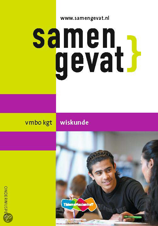 Samengevat wiskunde / VMBO-KGT