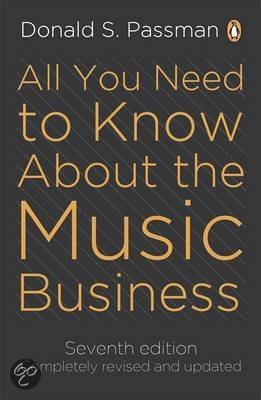 all you need to know about the music business ninth edition