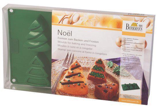 Birkmann Siliconen Bakvorm Noël Kerst - 6 Stuks