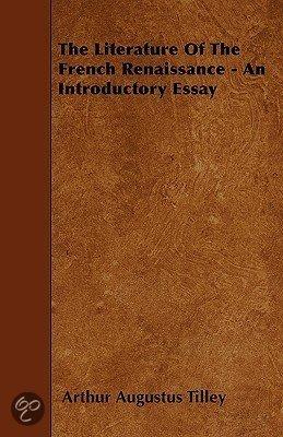 Essay french renaissance literature