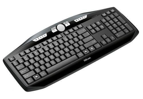 Trust Edge Wireless Keyboard - Zwart