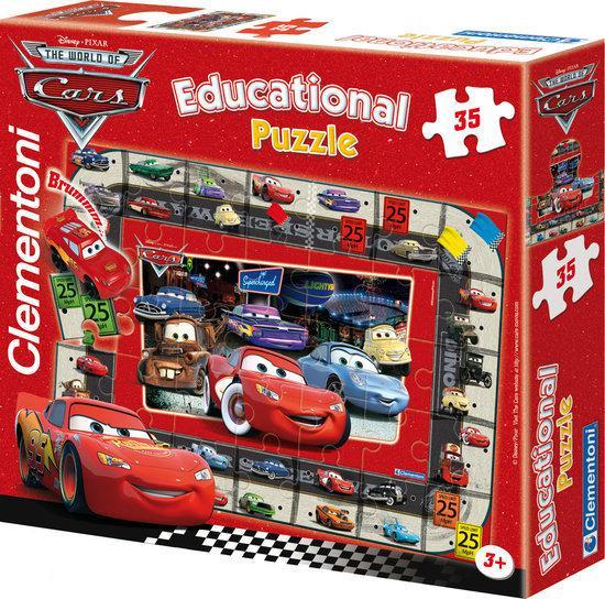 Cars 'Interactieve Quiz Puzzel'