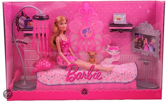 bolcom barbie furniture dream bedroom mattel speelgoed