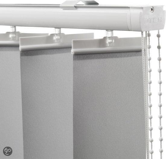 Lamellen 89mm 8 9x250 lichtgrijs wonen - Badkamer kantelen ...