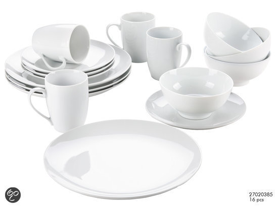Imperial Kitchen Serviesset - Wit 16-delig