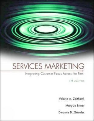 services marketing integrating customer focus across European economies are now dominated by services, and virtually all companies view service as critical to retaining their customers today and in the future in its third european edition, services marketing: integrating customer focus across the.