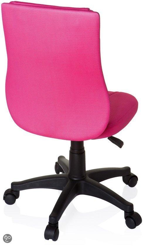 Hjh office kinder bureaustoel kiddy base roze - Tafel roze kind ...