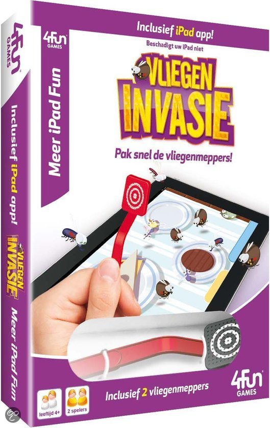 i-Fun Games i-Pad Vliegeninvasie