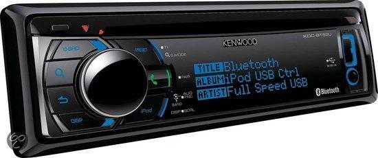 kenwood kdc bt52u autoradio met bluetooth elektronica. Black Bedroom Furniture Sets. Home Design Ideas