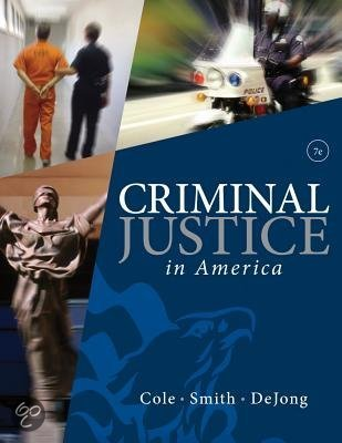 Criminal justice in america 6th edition