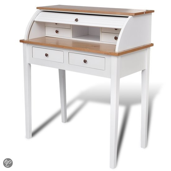 drop down writing desk bol com vidaxl bureau secretaire. Black Bedroom Furniture Sets. Home Design Ideas
