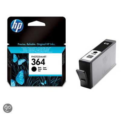 HP 364 - Inktcartridge Zwart