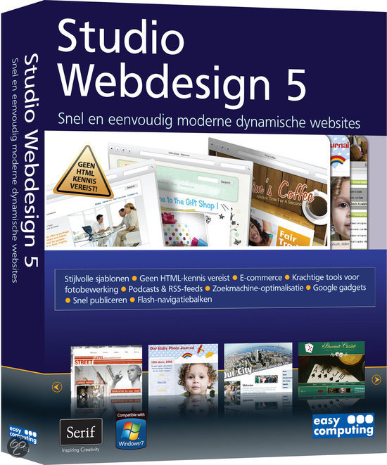 Easy Computing Studio Webdesign 5 - Nederlands