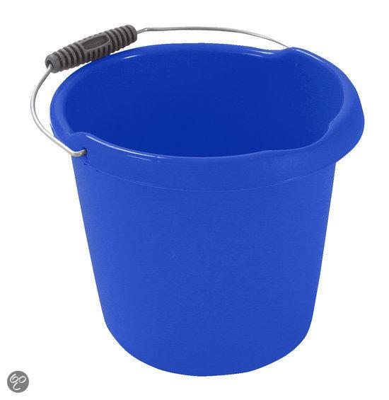 Curver Emmer met schenktuit - 10 l - Kunststof - Blauw