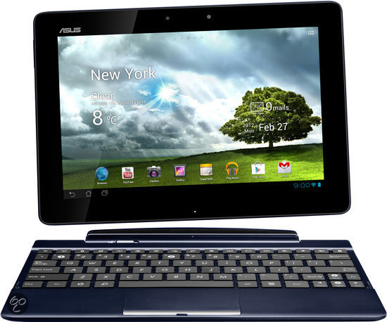 Asus Transformer Pad (TF300T) - Blauw - 32GB met docking