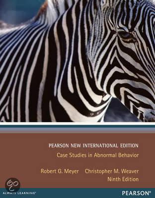 case studies in abnormal psychology meyer
