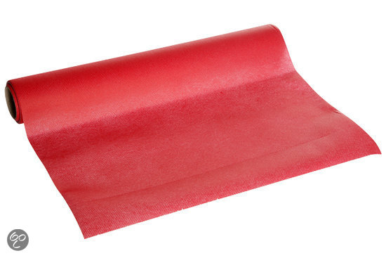 Cosy&trendy Tafelloper - Rood - Papier in Bouvignes-sur-Meuse