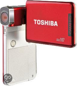 Toshiba Camileo S30 - Rood