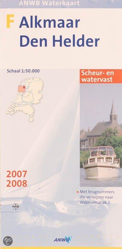 ANWB/VVV Waterkaart F Alkmaar - Den Helder / 2007/2008