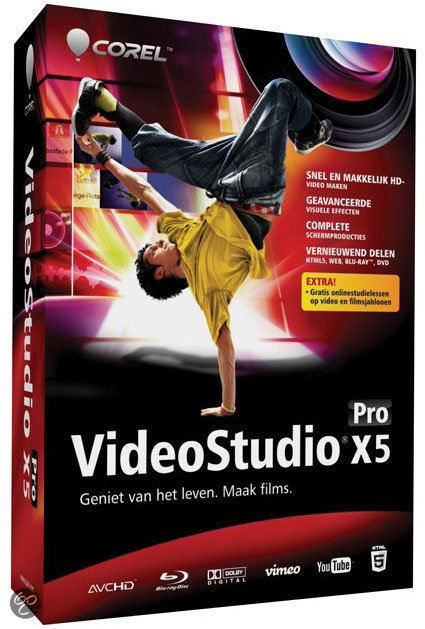 Corel Video Studio Pro X5 - Nederlands