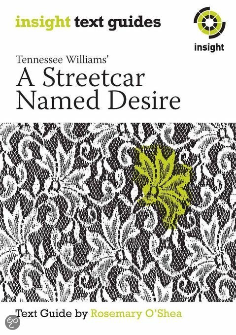 an analysis of the tennessee williams a streetcar named desire Tennessee williams  summary and analysis scene 1  says that she took a  streetcar named desire, and then    one called cemeteries, williams seems to .