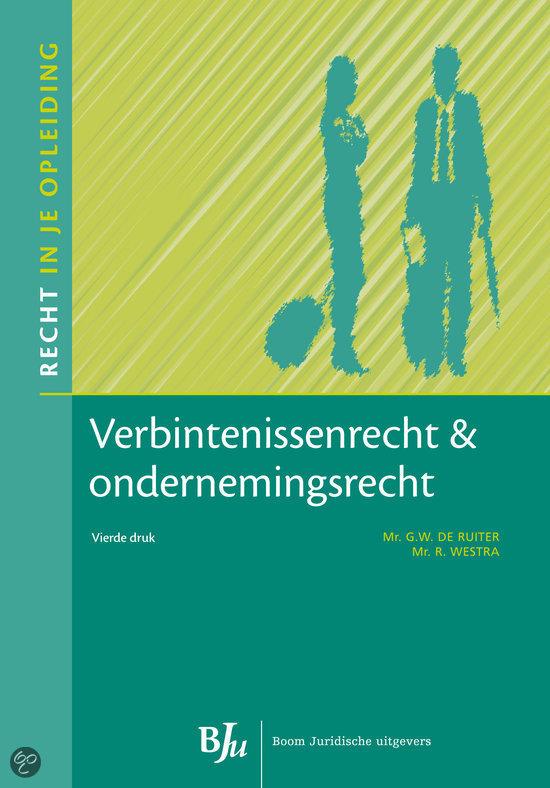 Verbintenissenrecht en ondernemingsrecht
