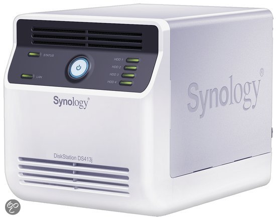 Synology DS413J - Netwerkschijf