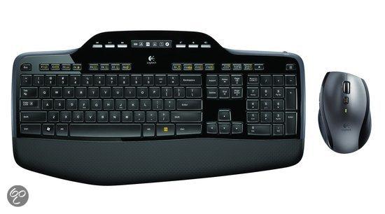 Logitech MK710  Draadloze Toetsenbord en muis (desktop)