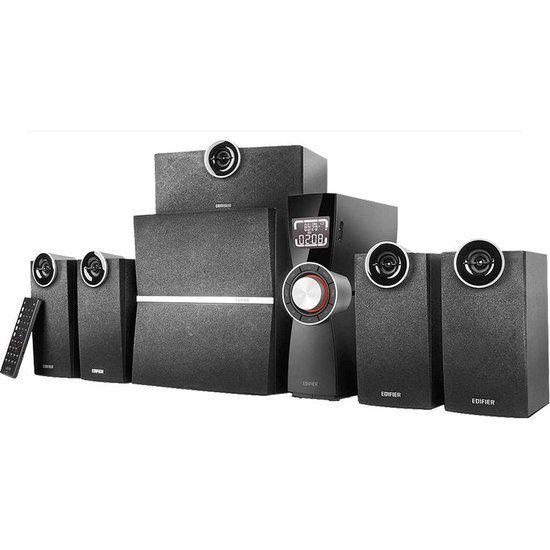 Edifier C6XD - 5.1 Multimedia Surround System - Zwart