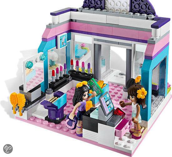 Lego friends stijlvolle schoonheidssalon 3187 for Salon de coiffure lego friends