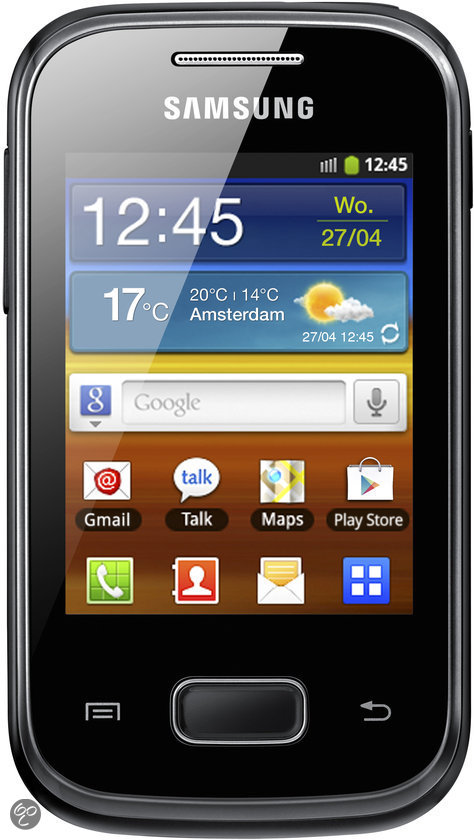 Samsung Galaxy Pocket - Zwart - Hi prepaid telefoon