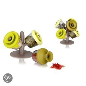 VacuVin PopSome - Herbs & Spices Boom - Set van 6