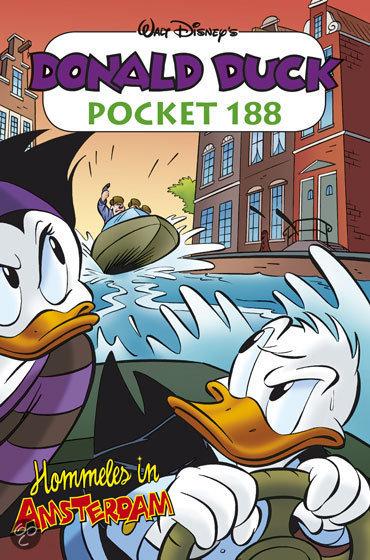 Donald Duck Pocket / 188 Hommeles in Amsterdam