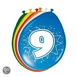 Ballonnen 9 jaar in Herne