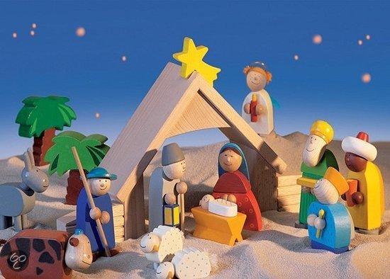 Haba selection kerststal inhoud 1 x 8202 - Figuras belen infantil ...