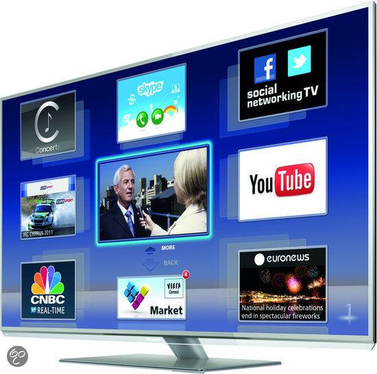panasonic tx l42dt50e 3d led tv 42 inch full hd internet tv elektronica. Black Bedroom Furniture Sets. Home Design Ideas