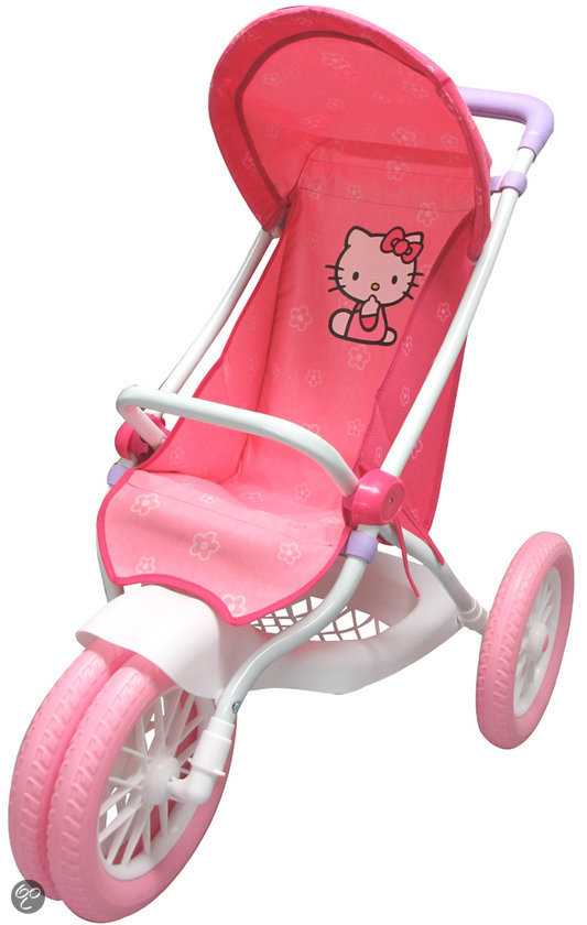 Hello Kitty Poppenwagen