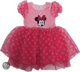Minnie Mouse jurk - Kostuum - Maat 92-98