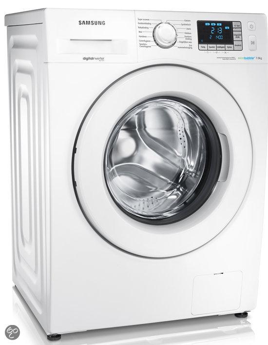 samsung wf70f5e3p4w en eco bubble wasmachine elektronica. Black Bedroom Furniture Sets. Home Design Ideas