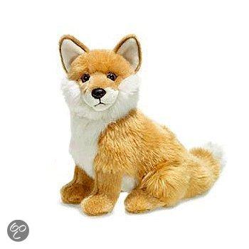 WNF vosje knuffel 25 cm zittend in Lageweg