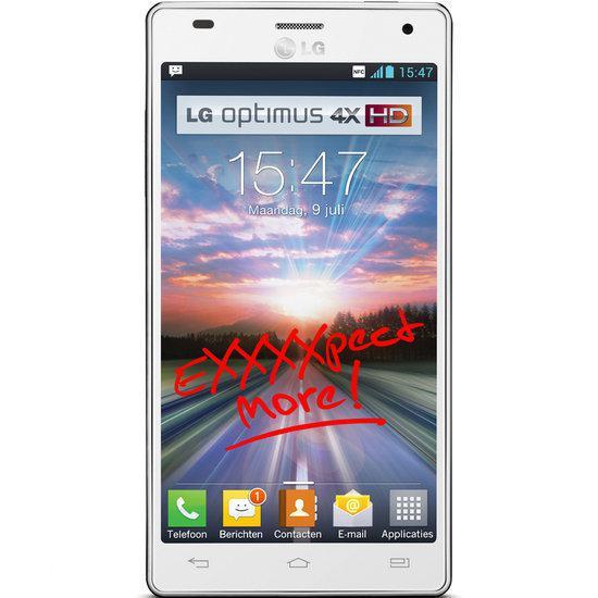 LG Optimus 4XHD - Wit