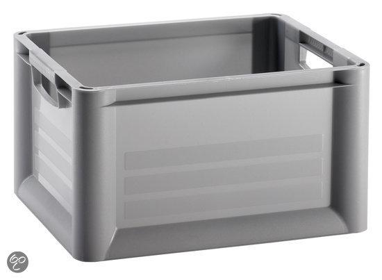 Curver Unibox 2nd Generation Opbergbox - 30 l - Kunststof - Zilver